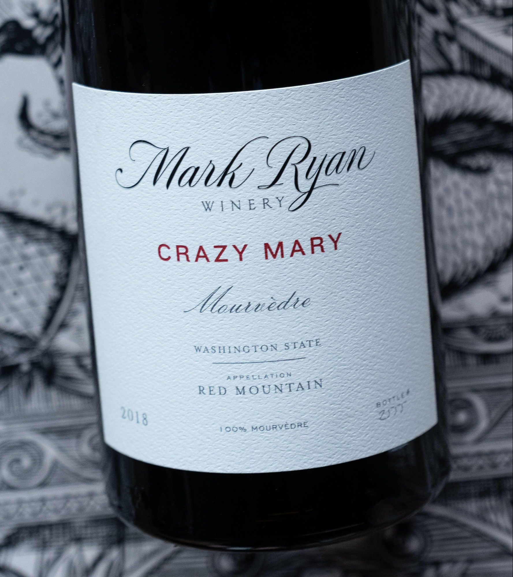 Bottle of Crazy Mary
