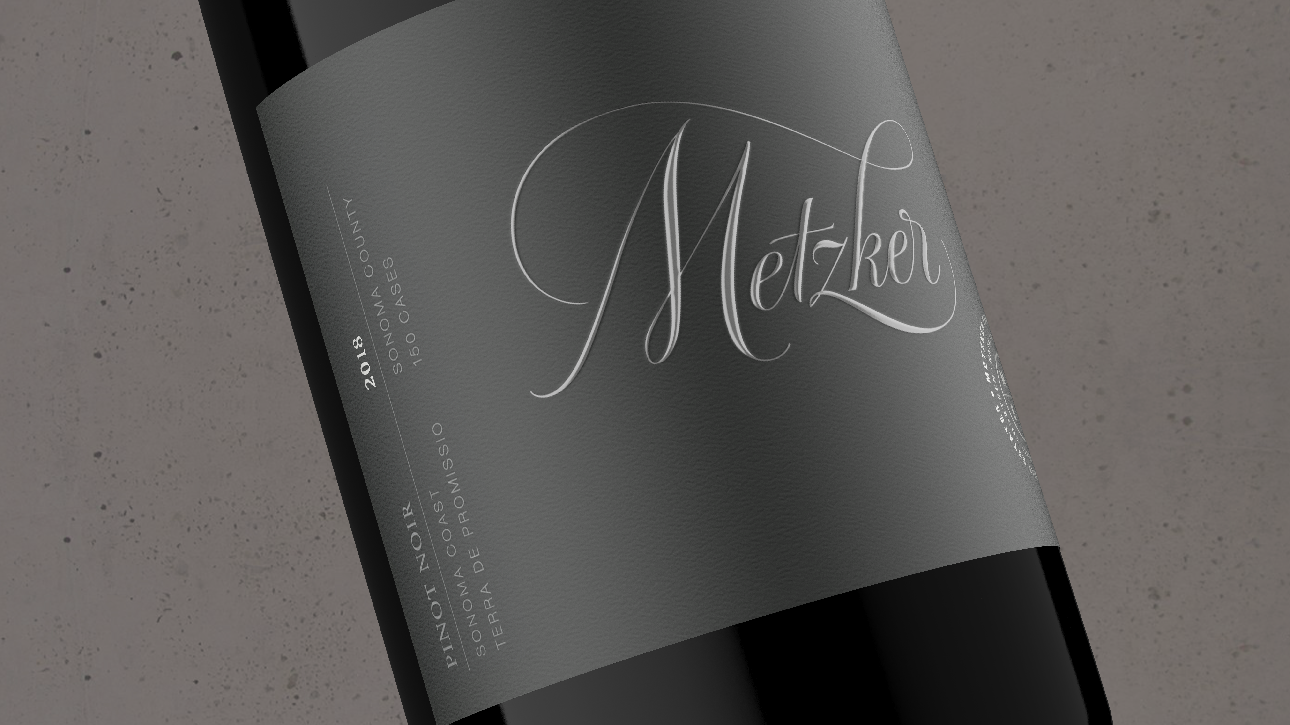 2018 Metzker Family Estates Pinot Noir Terra de Promissio - Metzker Family Estates Wines