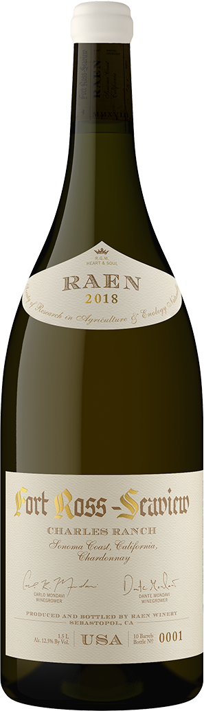 2018 Fort Ross Seaview Charles Ranch Chardonnay Magnum Charles Ranch Vineyard - RAEN Winery