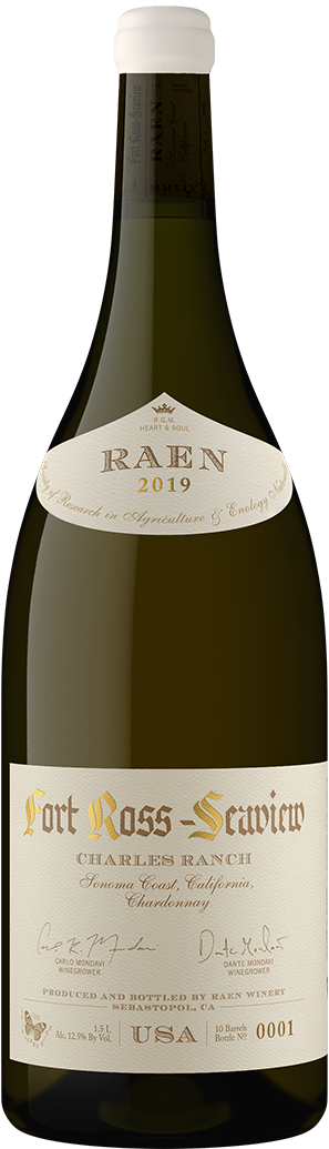 2019 Fort Ross Seaview Charles Ranch Chardonnay Magnum Charles Ranch Vineyard Magnum - RAEN Winery