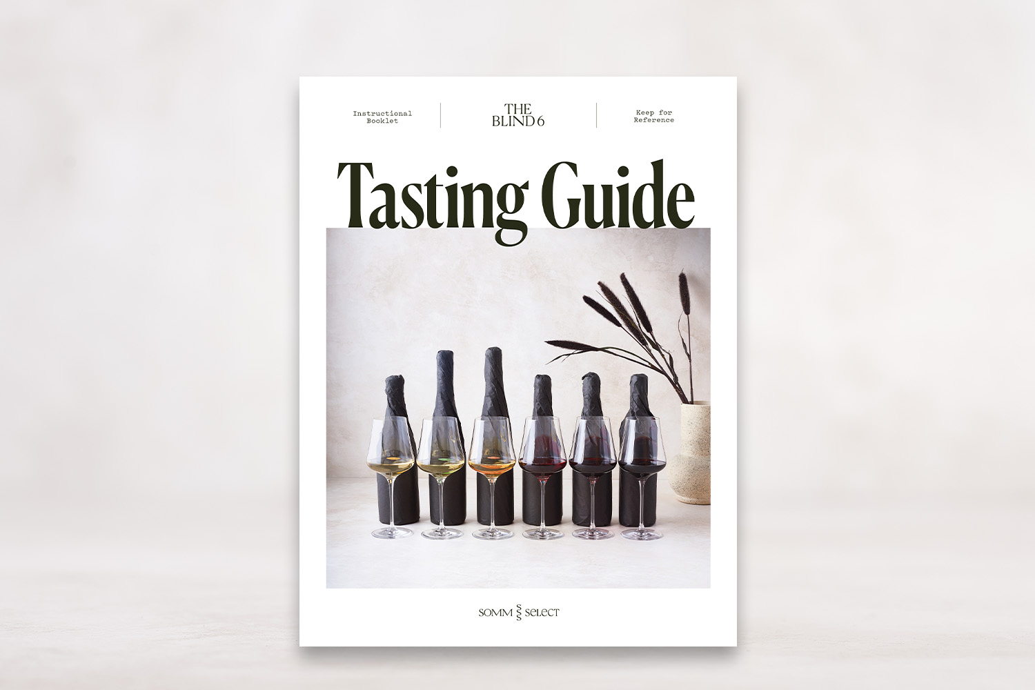 Blind 6 Gift Pack: First Edition Blind Tasting Kit - SommSelect