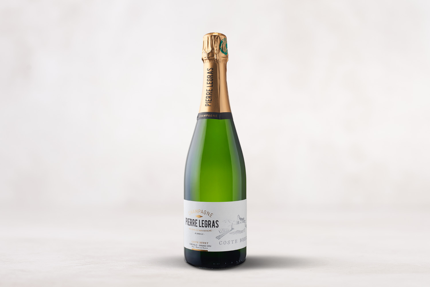 "Champagne Pierre Legras, Grand Cru ""Coste Beert"" Chouilly, Champagne, France MV - SommSelect"
