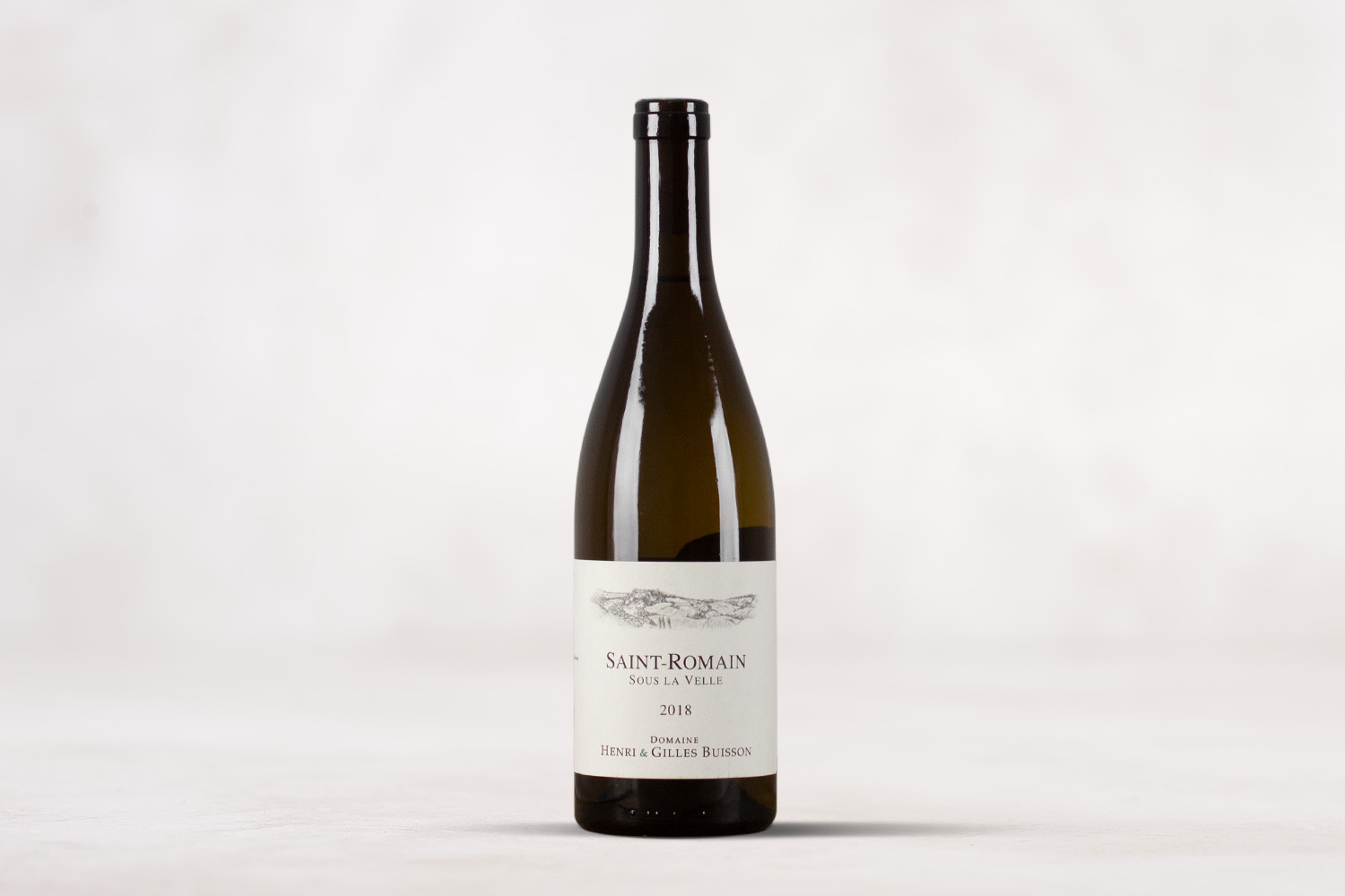 "Henri & Gilles Buisson, ""Sous la Velle"" Saint-Romain Blanc Burgundy, France 2018 - SommSelect"