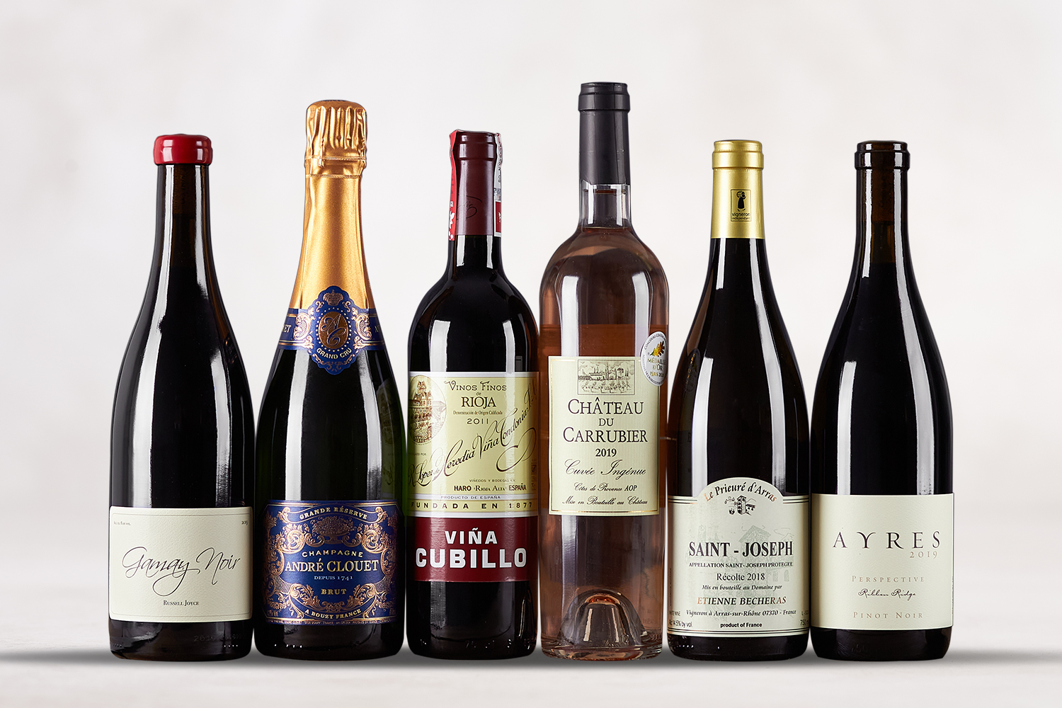 Holiday Cheers 6-Pack Six hand-selected favorites to amp up your holiday feast! - SommSelect