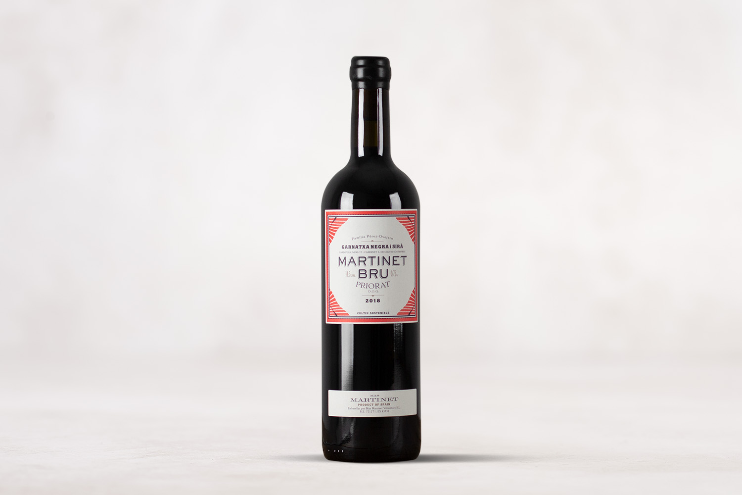 "Mas Martinet, ""Martinet Bru"" Priorat Catalunya, Spain 2018 - SommSelect"