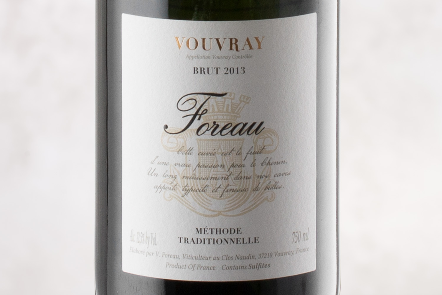Philippe Foreau, Vouvray Brut Loire Valley, France 2013 - SommSelect