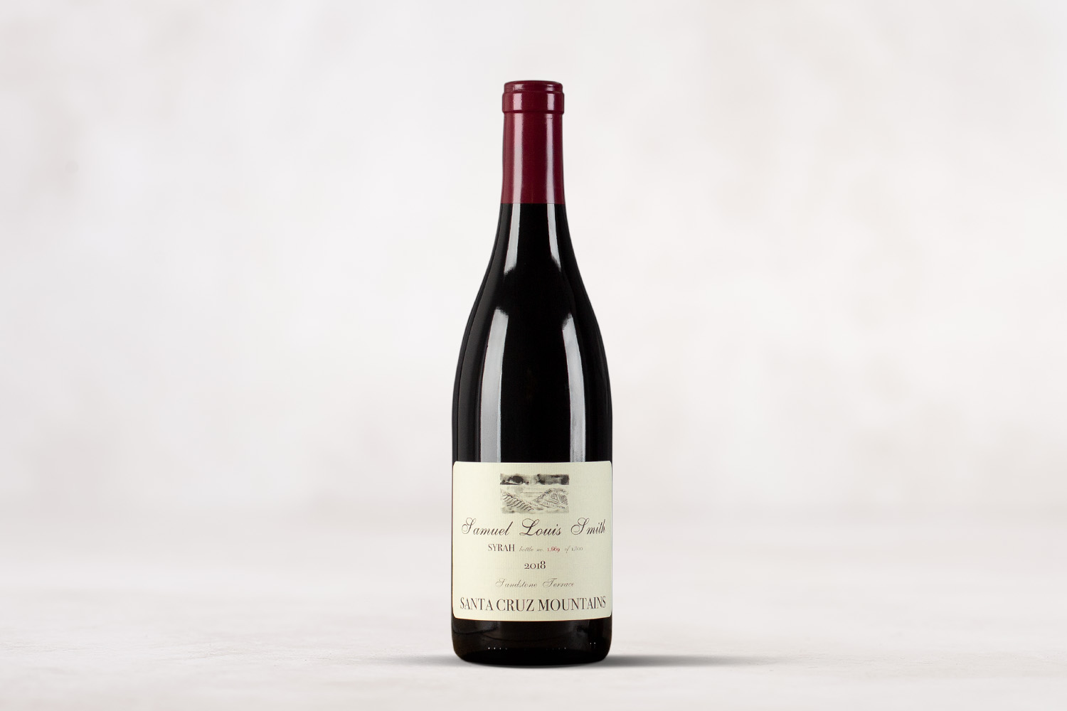 "Samuel Louis Smith, ""Sandstone Terrace"" Syrah Santa Cruz Mountains, California 2018 - SommSelect"