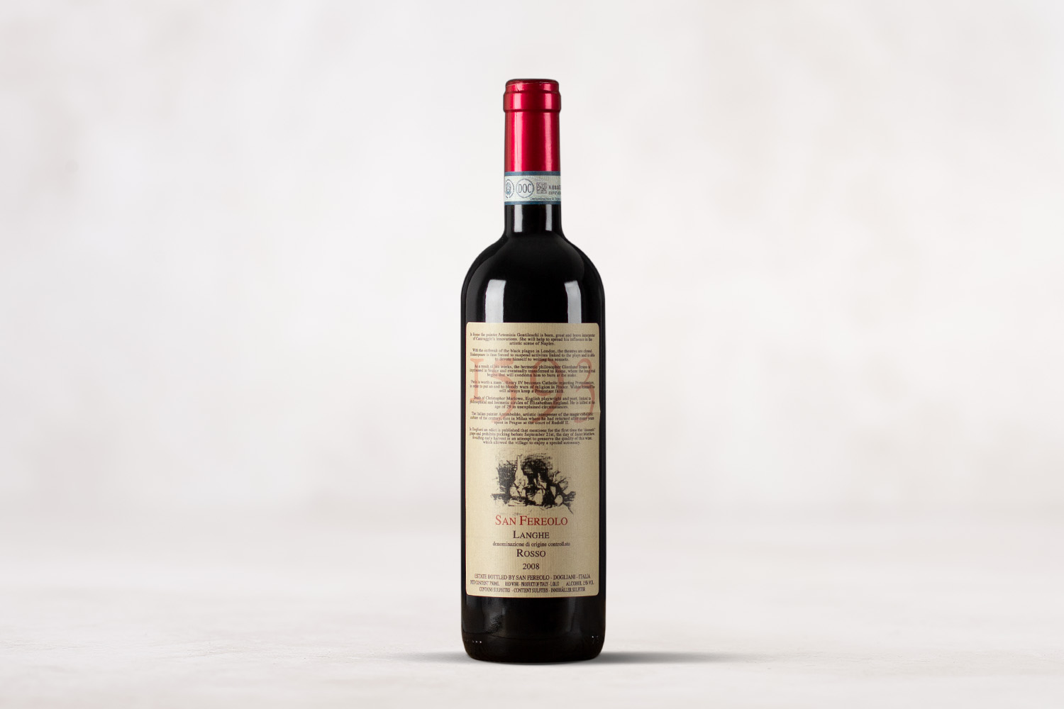 "San Fereolo, ""1593"" Langhe Rosso Piedmont, Italy 2008 - SommSelect"