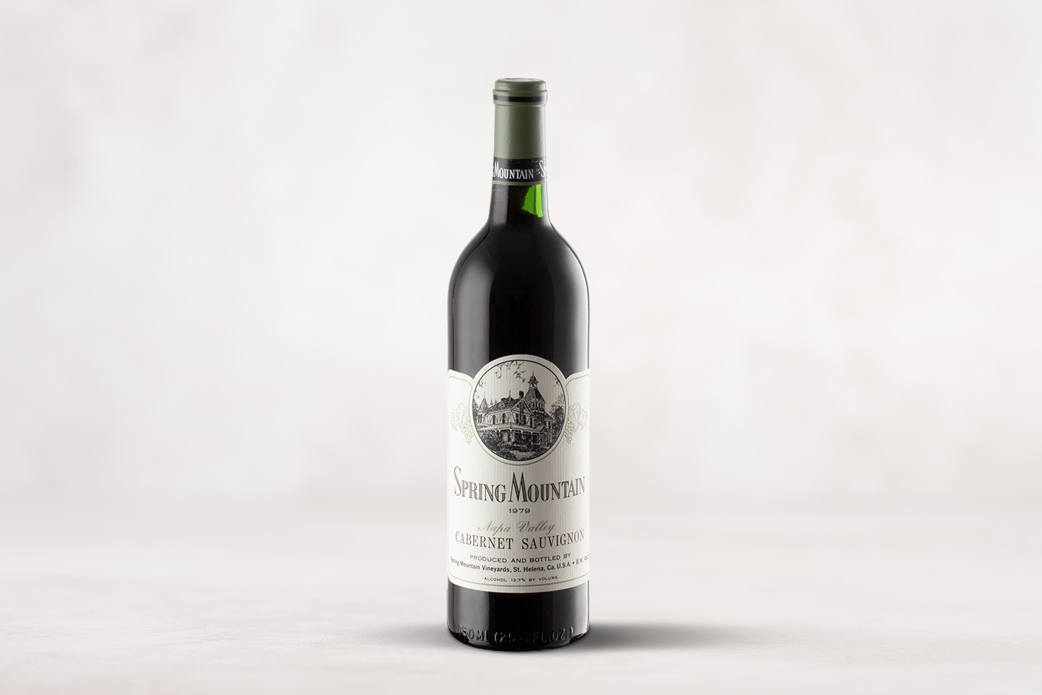 Spring Mountain Vineyard, Estate Cabernet Sauvignon Napa Valley, California 1979 - SommSelect
