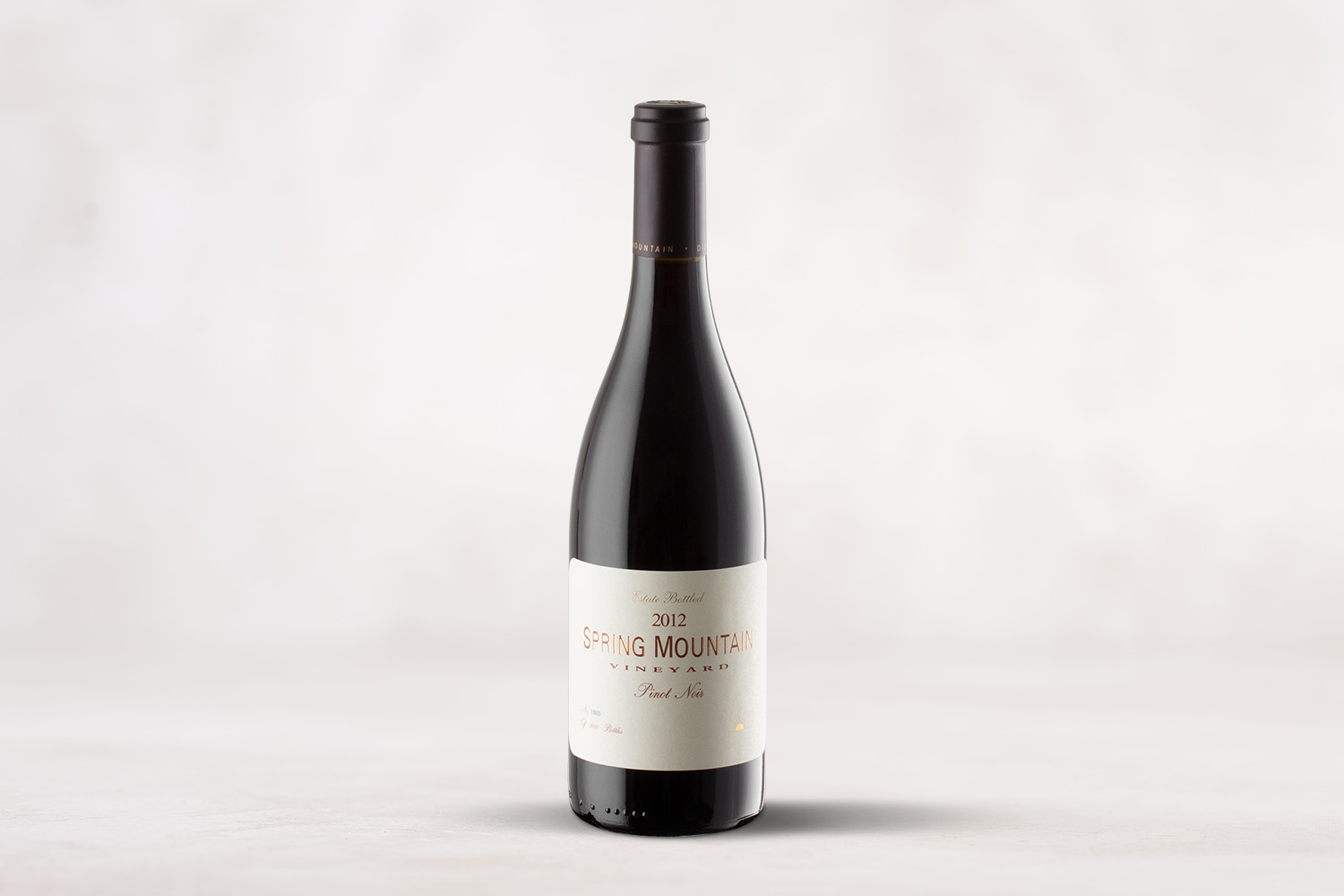 Spring Mountain Vineyard, Pinot Noir Spring Mountain District, Napa Valley, California 2012 - SommSelect