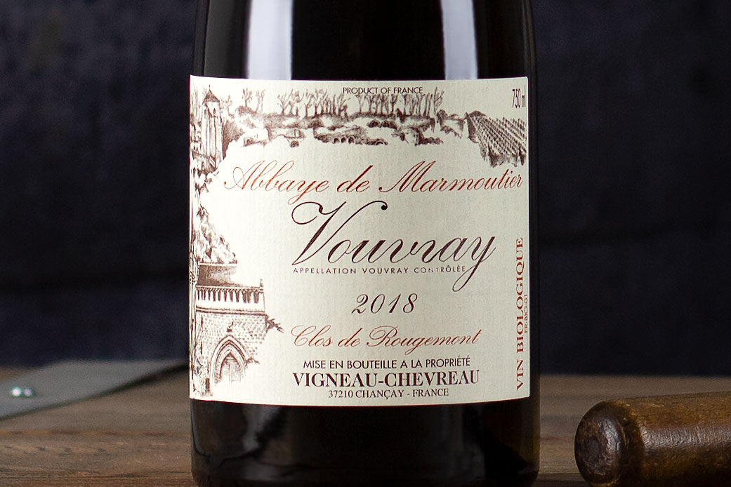 "Vigneau-Chevreau, Vouvray ""Clos de Rougemont"" Loire Valley, France 2018 - SommSelect"