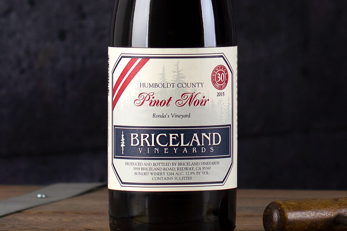 "Briceland Vineyards, ""Ronda's Vineyard"" Pinot Noir Humboldt County, California 2015 - SommSelect"