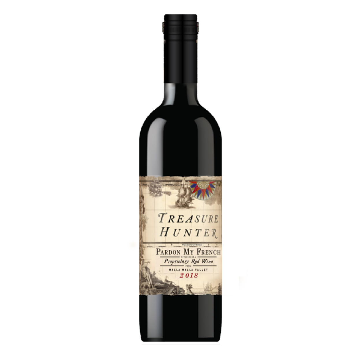 Pardon My French 2018 Bordeaux Blend - The Authentic 3 Finger Wine Company