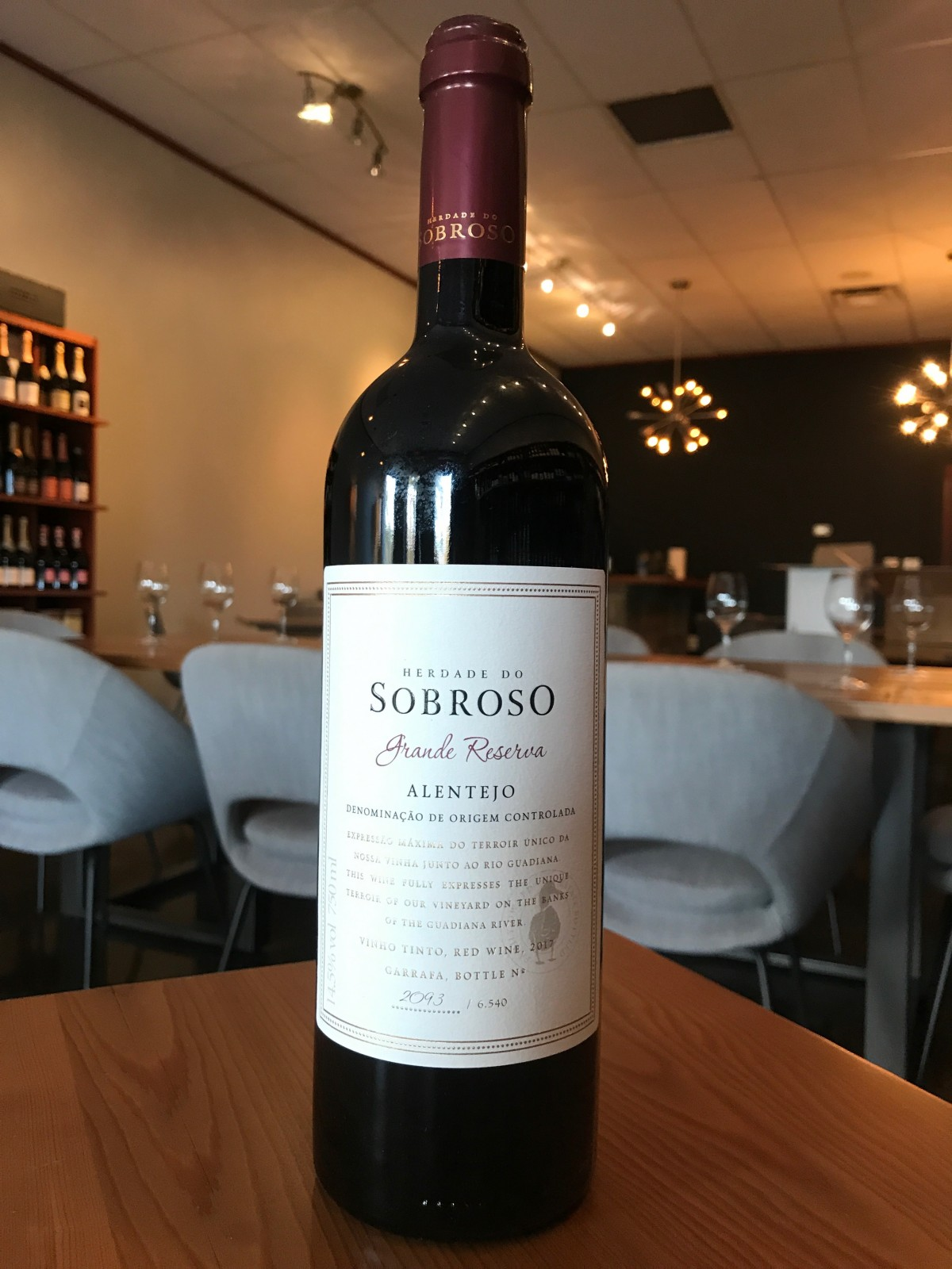 Herdade do Sobroso Grande Reserva Red Alentejo 2017 - TINTO Wine and Cheese