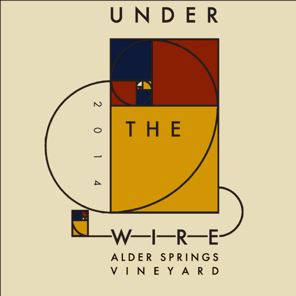 2014 Under The Wire Alder Springs Vineyard Sparkling Chardonnay  Mendocino  - Under The Wire