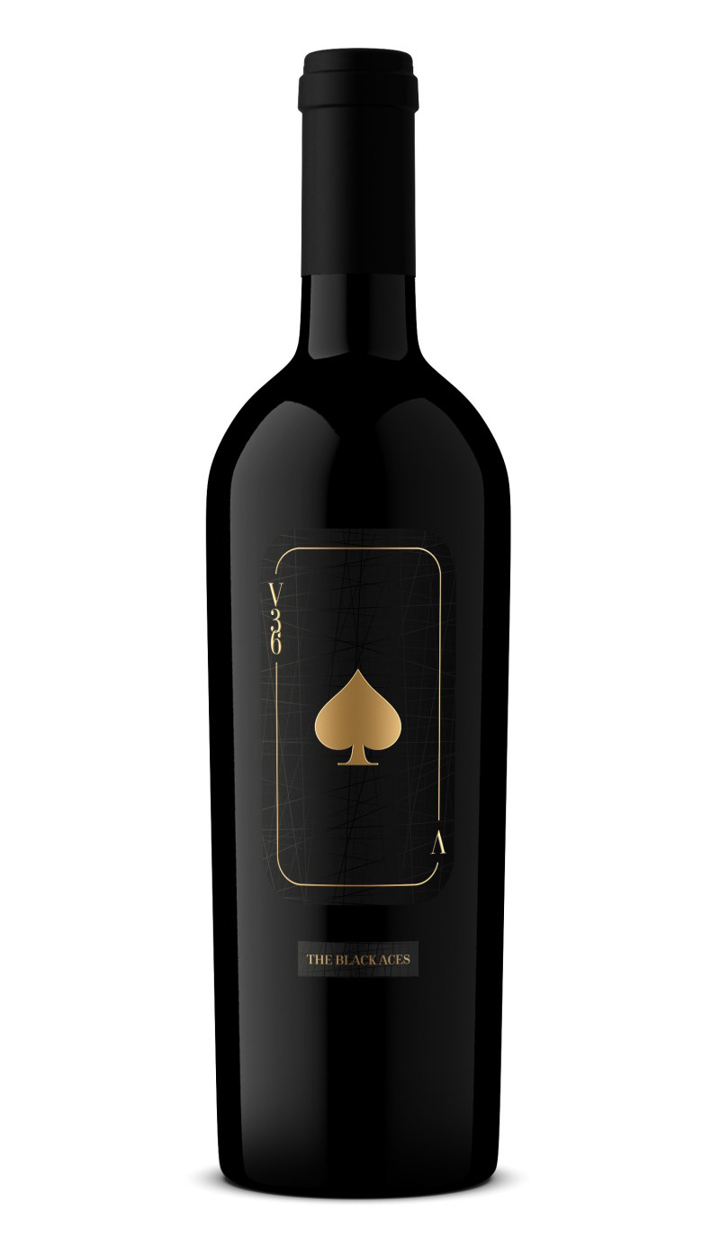 2016 The Black Aces  Cabernet Sauvignon - Vineyard 36