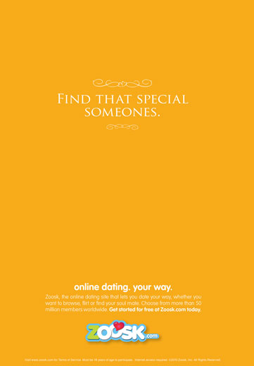 Online dating your way