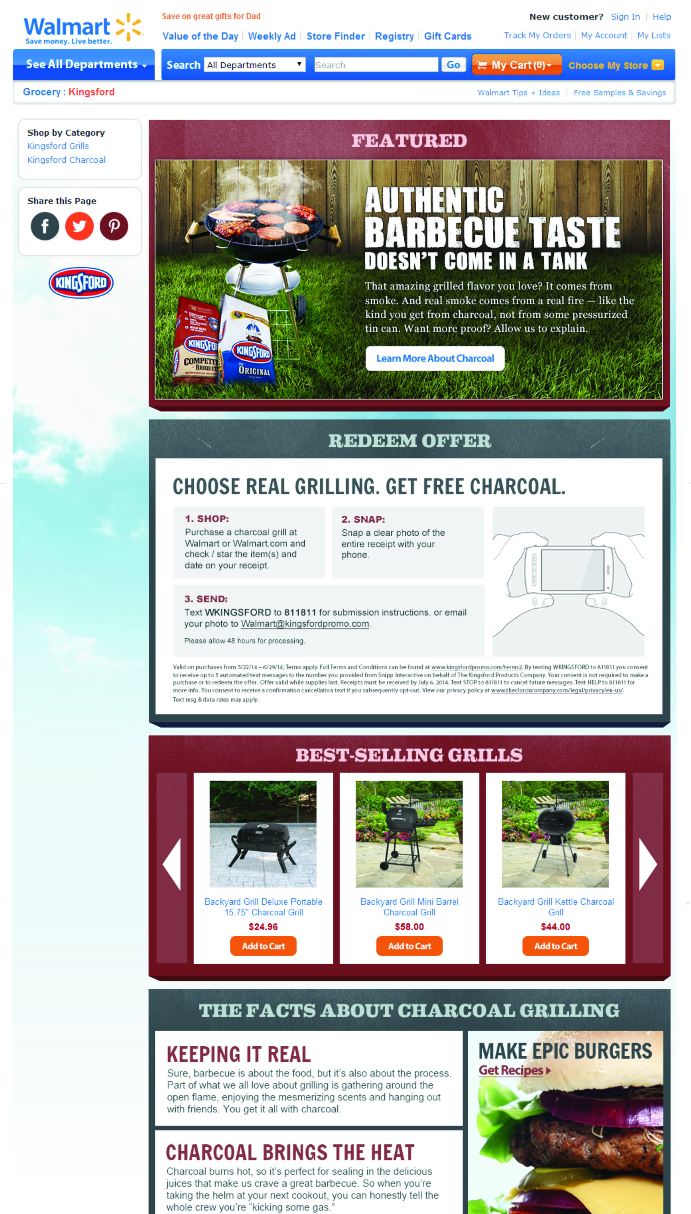 kingsford charcoal case analysis Trending analysis shows that gas grill purchases grew at an 8% pace in 2000, while the sale of charcoal grills declined by 3% it is important to convince kingsford's targeted consumers that charcoal grilling is superior to gas grilling.