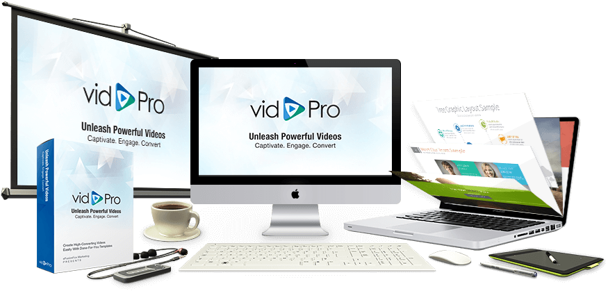 vidpro, theme powerpoint