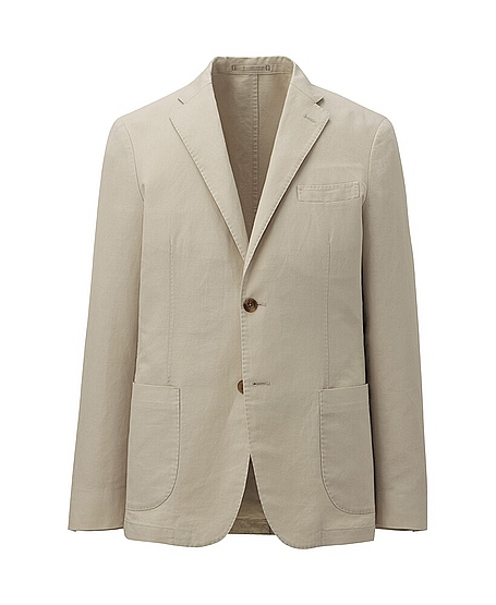 uniqlo linen sport jacket