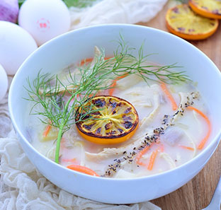 Greek Egg Lemon Soup