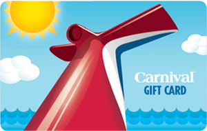 Carnival Physical Gift Card