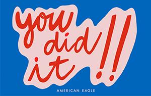AE Grad You Did It eGC