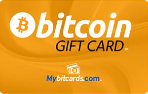 Bitcoin Gift Card Yellow