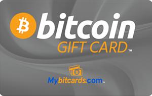 Bitcoin Gift Card Gray