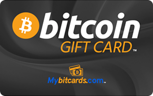 Bitcoin Gift Card Black