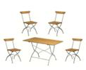 Bryggerigrupp (bord+4 stolar)