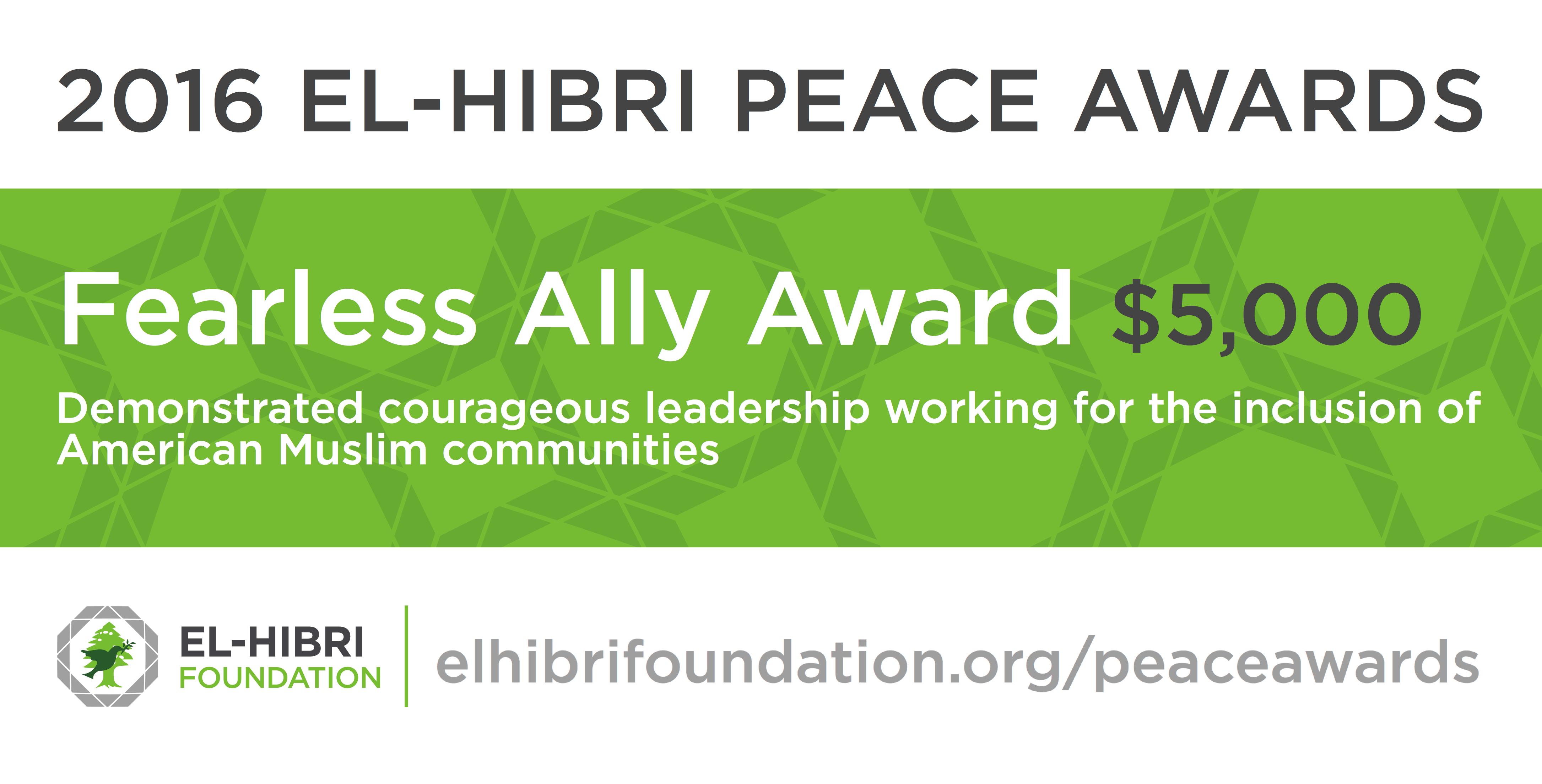 El-Hibri Foundation - Fearless Ally Award