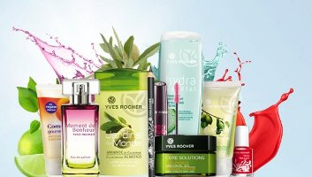 Cosmetics Yves Rocher ✓ The Halloween and Makeup