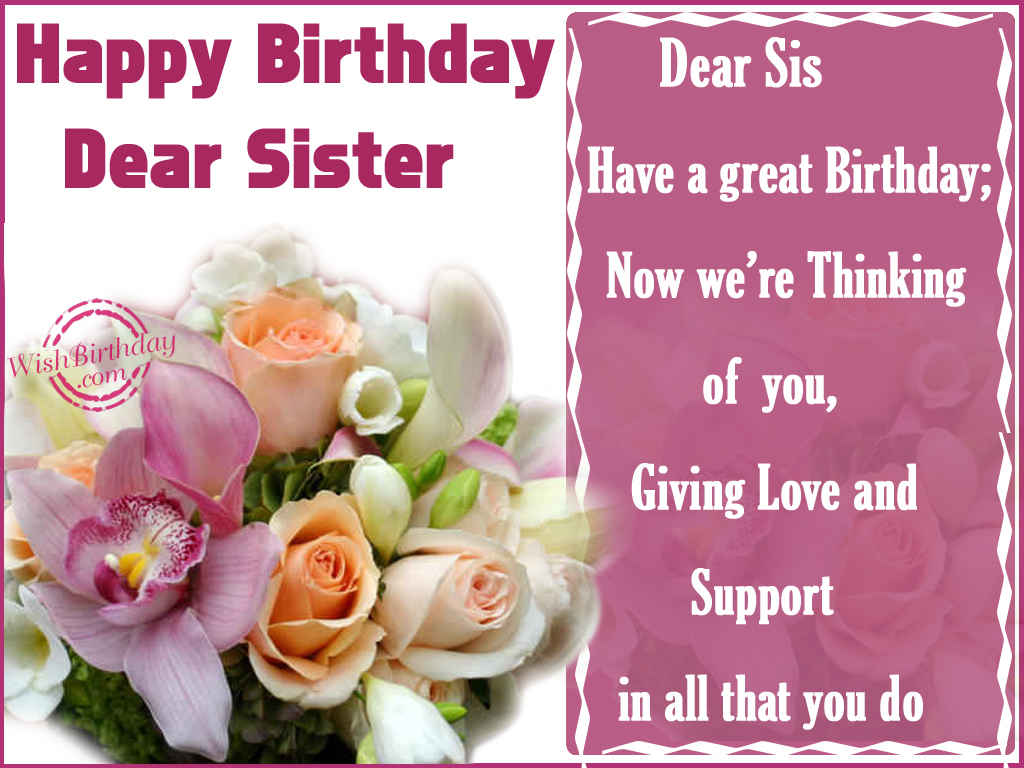 Happy Birthday Songs For Sister Free Download