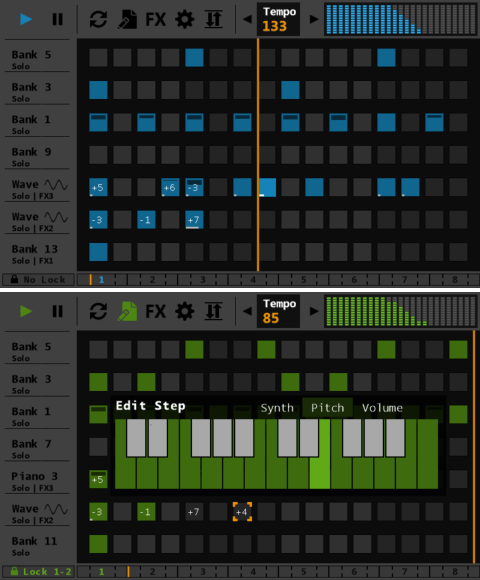 Sequencer Pro Screenshots