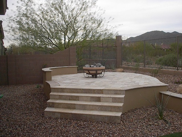Phoenix Anthem Arizona Firepit Outdoor Fireplace Design For