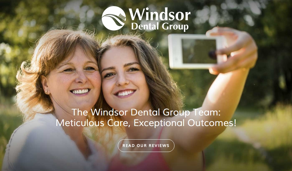 Windsor Dental Group website