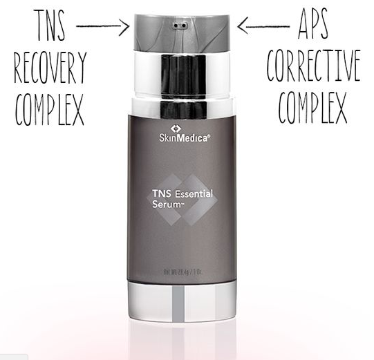 TNS Essential Serum bottle