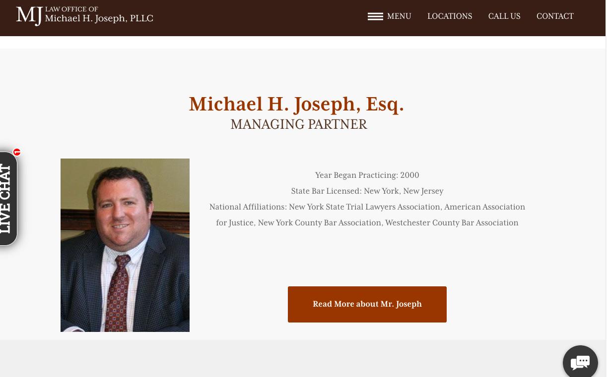 michael joseph homepage
