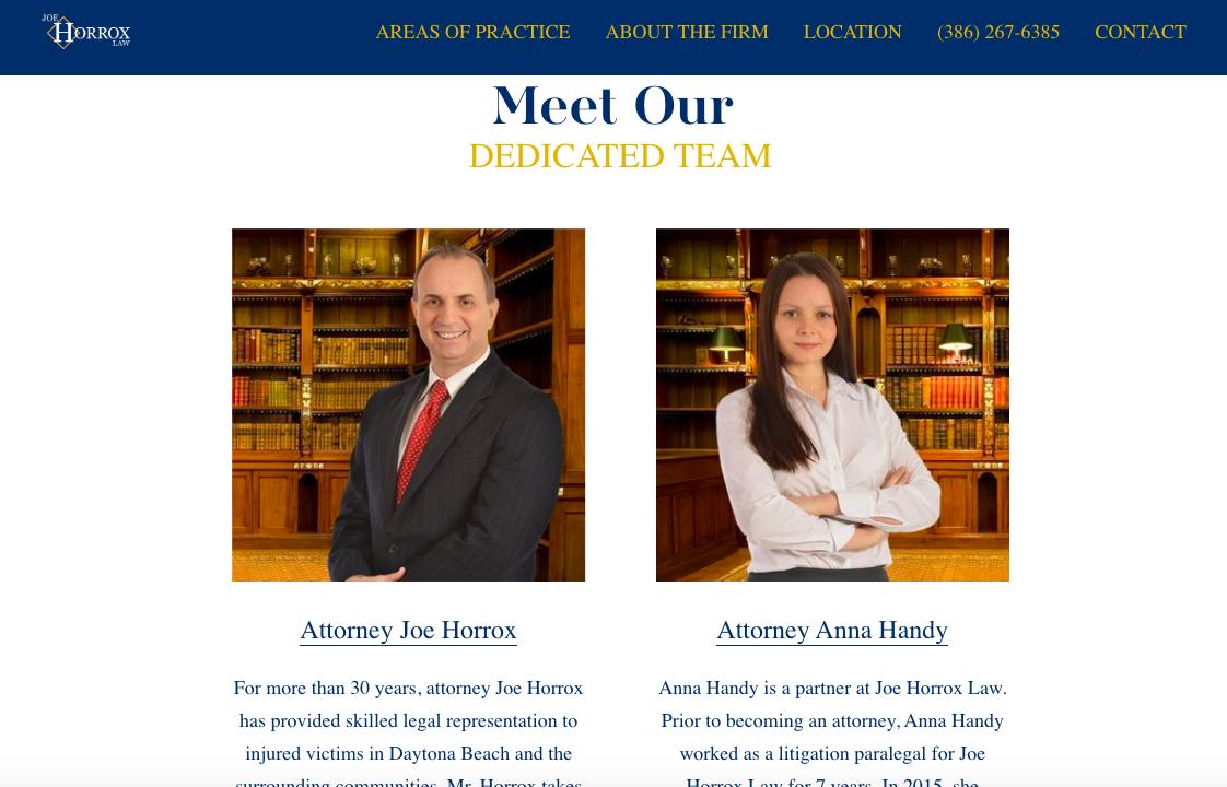 attorney bios