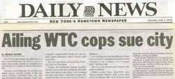 Ailing WTC Cops