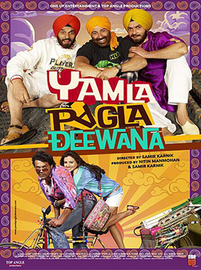 Yamla Pagla Deewana 2011 HINDI Subtitle watch online