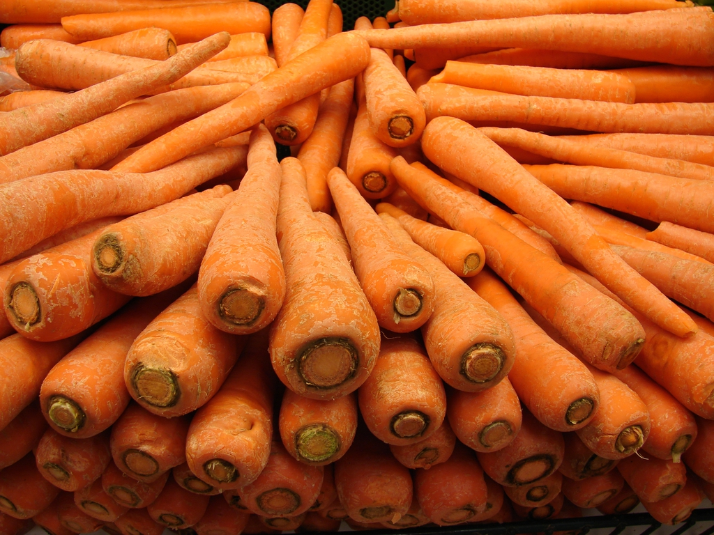 ends of carrots