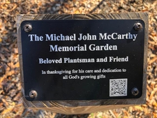 The Michael John McCarthy Memorial Garden