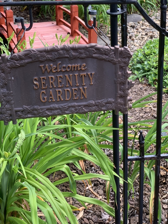 Daylily Garden welcome sign