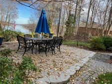 Patio is still inviting in late fall