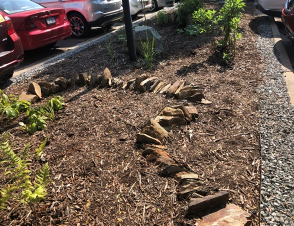 Boulders, stepping stones & gravel (March/2019)