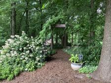 Wild Side Garden entrance