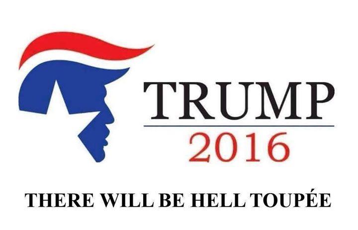 Trump Hell Toupée
