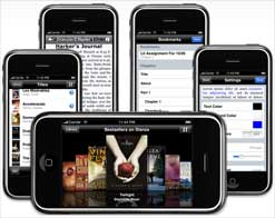 Stanza Reader for the iPhone & iPod touch